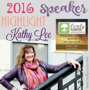 There are so many wonderful speakers at the 2016 IAHE Homeschool Convention. Read more about Kathy Lee in my interview with her! :: www.inallyoudo.net