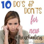 10 Do's and Don'ts for New Homeschoolers