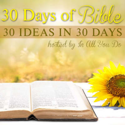 30 Days of Bible: 2016