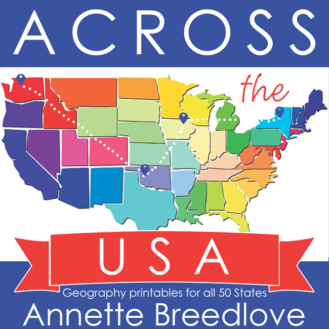 - Across The USA + 50 States Mandala Coloring Book - In All You Do