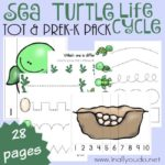 Sea Turtles Tot & PreK-K Pack