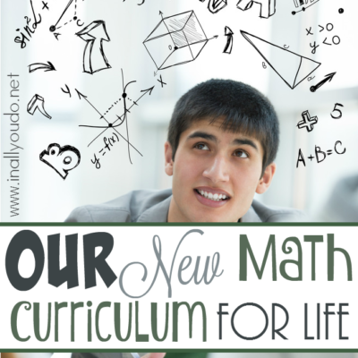 Our New Math Curriculum for Life