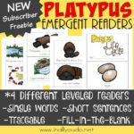 Platypus Life Cycle Emergent Readers