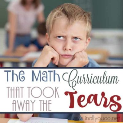 The Math Curriculum that Took Away the Tears