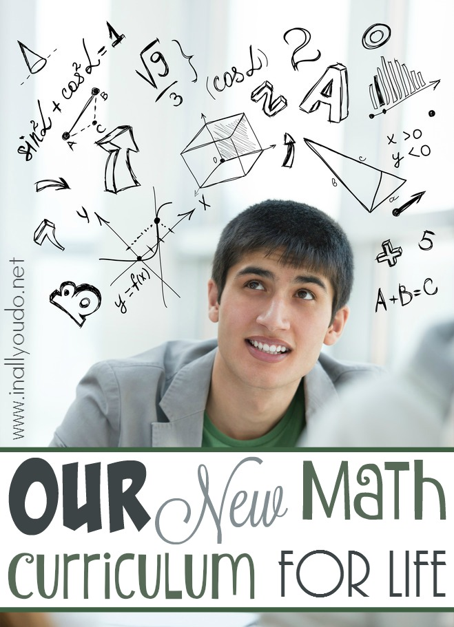 Whether you're just beginning or looking for a new math curriculum for your struggling learner, you might just LOVE our new Math Curriculum choice! We are now lifers! :: www.inallyoudo.net