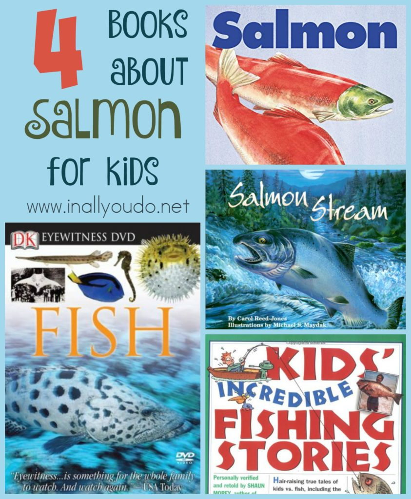 Salmon are amazing creatures and fascinating fish. Learn more about their Life Cycle with these FUN Coloring Pages! :: www.inallyoudo.net