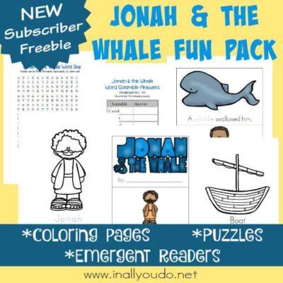 Jonah & the Whale Fun Pack