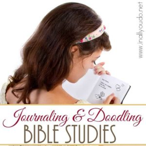 Do you like to Journal and/or Doodle along with your Bible Reading? Here are some great tips and resources to get started on your own! :: www.inallyoudo.net