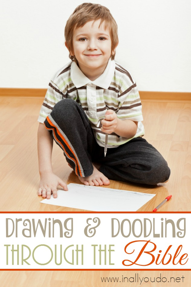 Drawing and Doodling through the Bible can be as simple or elaborate as you want it to be! Make the most of your Bible time by starting today! :: www.inallyoudo.net