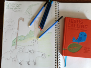 Have you ever doodled after you read something inspiring or a verse in the Bible? Why not try to make your Daily Devotionals a work of Art? :: www.inallyoudo.net