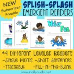 Splish-Splash Emergent Readers