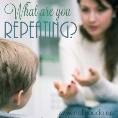 What Are You Repeating?