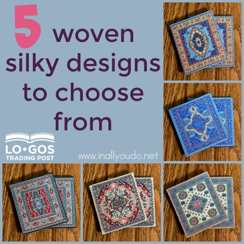 It is easy to make a difference around the world and give beautiful gifts with these coasters from Logos Trading Post! Read more to find out how! :: www.inallyoudo.net