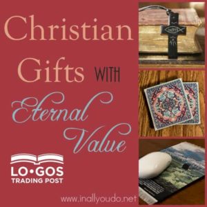 The older I get, the more I want to give gifts that matter, gifts with meaning rather than gifts that get put in a corner. I have found those gifts with LOGOS Trading Post. Find out more now! :: www.inallyoudo.net