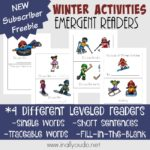 Winter Activities Emergent Readers
