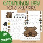 Groundhog Day Tot & PreK-K Pack