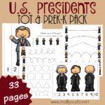 U.S. President's Tot & PreK-K Pack