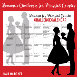 Romance Challenge Calendar for Married Couples
