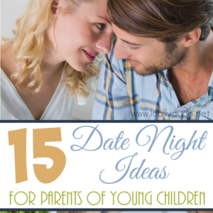 If your date nights are non-existent since having children, have no fear. These date night ideas are fun and easy, even with small kids in tow. :: www.inallyoudo.net