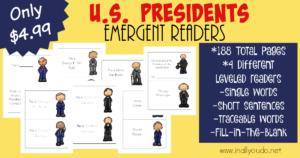 U.S. Presidents Emergent Readers