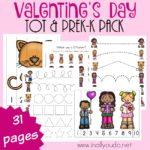 Valentine's Day Tot & PreK-K Pack