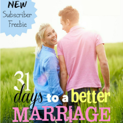31 Days to a Better Marriage {Fall 2014}