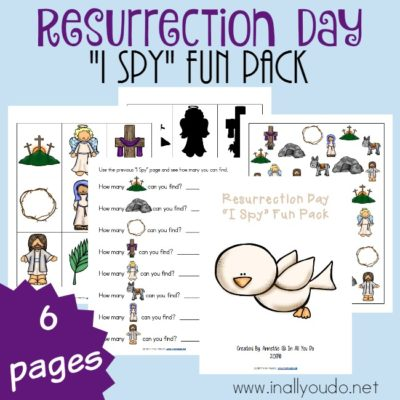 "Resurrection Day ""I Spy"" Fun Pack"