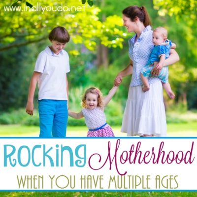 Rocking Motherhood with Multiple Ages