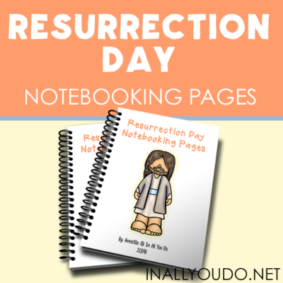Resurrection Day Notebooking Pages