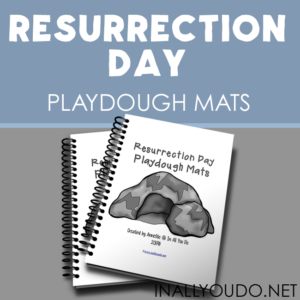 Resurrection Day Playdough Mats