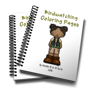 Grab these Birdwatching Coloring Pages to use alongside a mini unit, as an addition to your backyard birdwatching or just for fun! This set includes 44 total pages in 4 different handwriting styles. :: www.inallyoudo.net