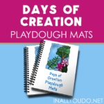 Days of Creation Playdough Mats