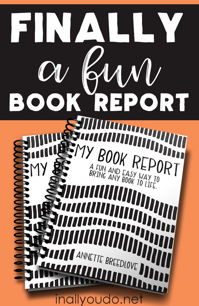 Do your students dread book reports? Make them fun, exciting and engaging with this new Book Report Pack! It includes 15-pages of preparatory writing skills in a new and fun way. :: www.inallyoudo.net