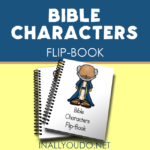 Bible Characters Mini Flip Book