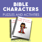Bible Characters Puzzles & Activities