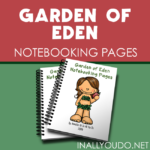 Garden of Eden Notebooking Pages