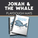 Jonah & the Whale Playdough Mats