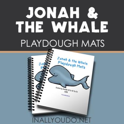 Jonah & the Whale Playdough Mats