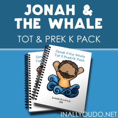 Jonah & the Whale Tot & PreK-K Pack