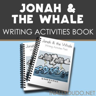 Jonah & the Whale Writing Activities
