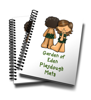 Garden of Eden Playdough Mats