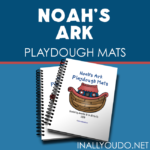 Noah's Ark Playdough Mats