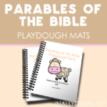 Parables of the Bible Playdough Mats