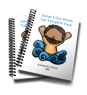 Jonah & the Whale Tot & PreK-K Pack
