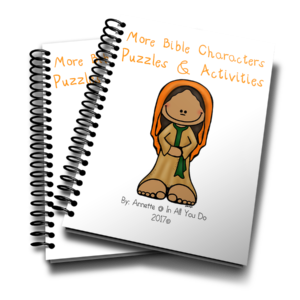 Learn more about 12 different Bible Characters with these FUN & FREE Puzzles & Activities!! Includes 23 pages of Crosswords, Word Searches, Sudoku, Matching & MORE!! Kids, ages PreK-5th, will enjoy these puzzles & activities. :: www.inallyoudo.net