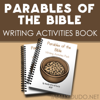 Parables of the Bible Writing Activities Pack