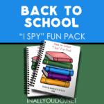 Back to School I Spy Fun Pack
