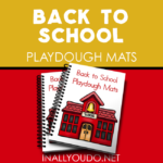 Back to School Playdough Mats