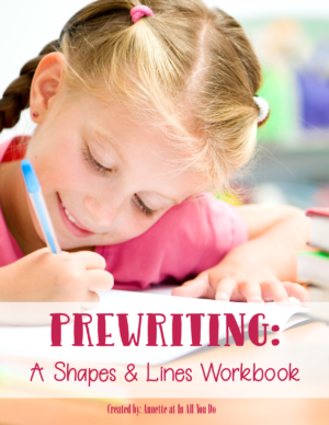 Prewriting: A Shapes & Lines Workbook