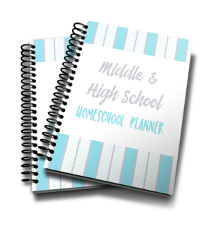 Middle & High School Homeschool Planner